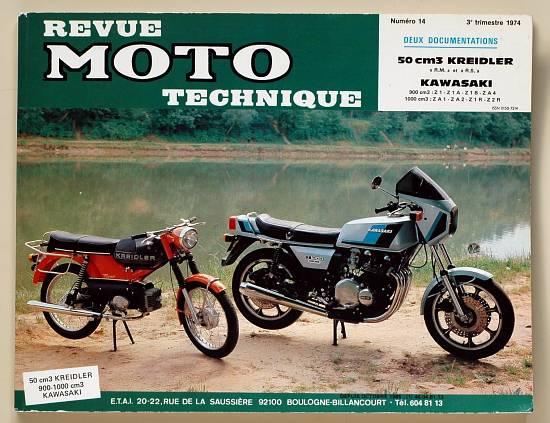 Revue technique Z1 1973 - Z1 1974
