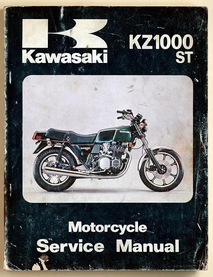 Manuel d'atelier Z1000 A1 1977