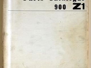 Catalogue des pièces détachées + références du 900 Z1 1973 (Anglais)