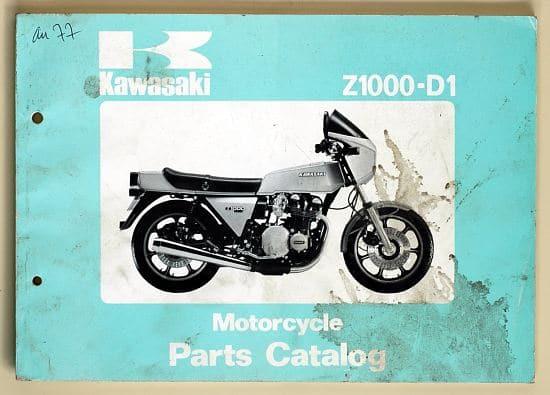 Catalogue des pièces détachées + références du Z1R et Z2R (Anglais)