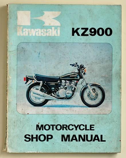 Manuel d'atelier Z900 A4 1976