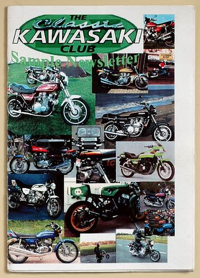 Journal du Classic Kawasaki Club (Nottingham)