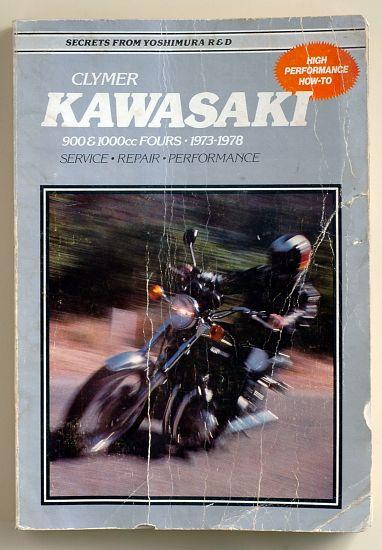 Revue technique en Anglais du Z 900 1973 au Z1000 A2 1978