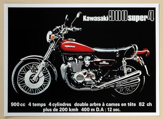 Publicité 900 Z1 1973