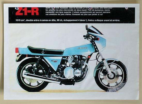 Publicité Z1R 1978