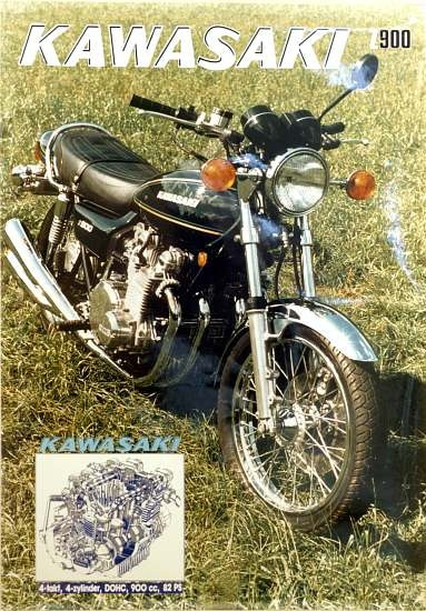 Poster Z 900 A4 1976 50 X 70